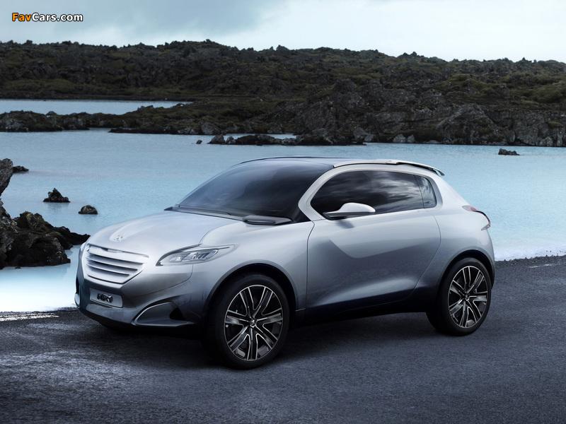 Images of Peugeot HR1 Concept 2010 (800 x 600)