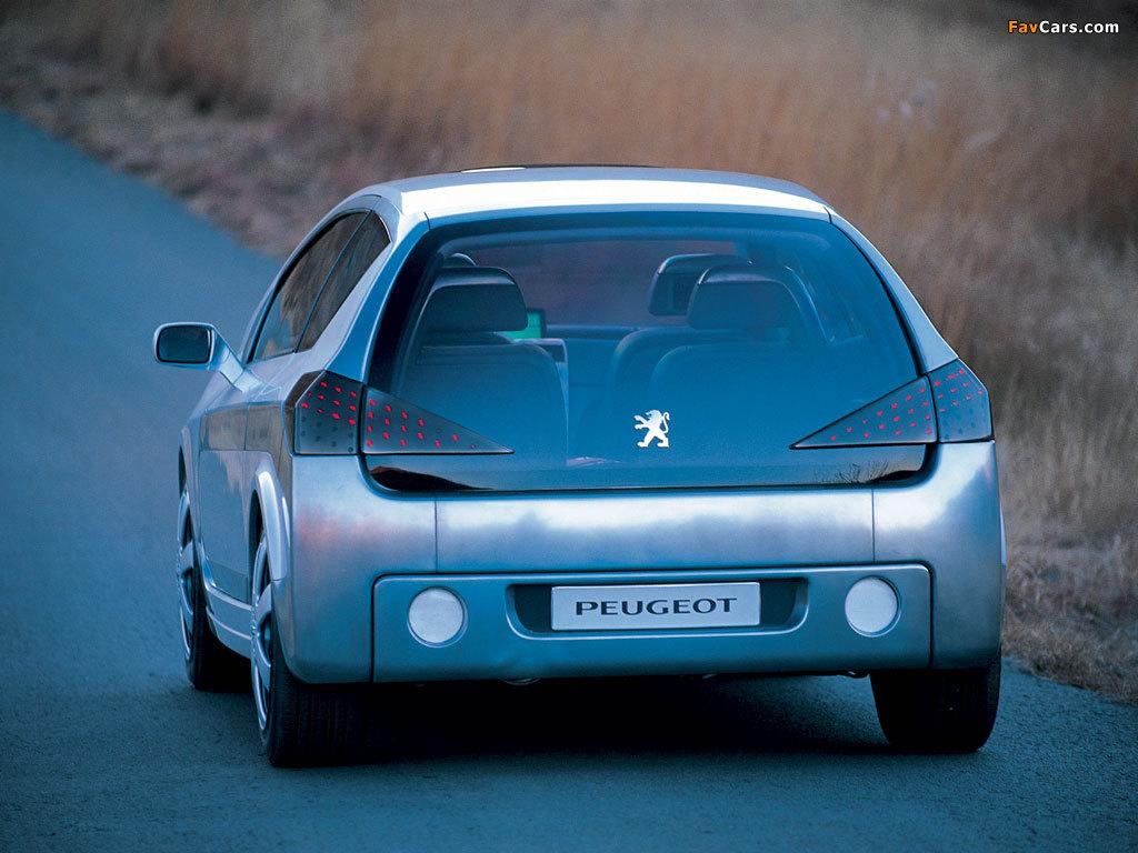 Peugeot Promethee Concept 2000 wallpapers (1024 x 768)