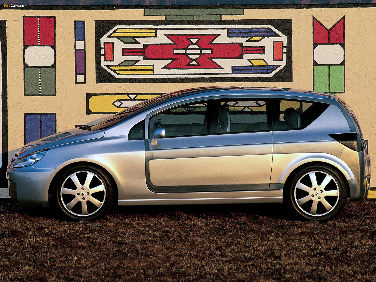 Peugeot Promethee Concept 2000 wallpapers (1600 x 1200)