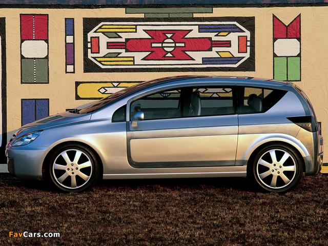 Peugeot Promethee Concept 2000 wallpapers (640 x 480)