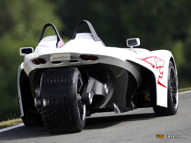 Peugeot 20Cup Concept 2005 wallpapers (640 x 480)
