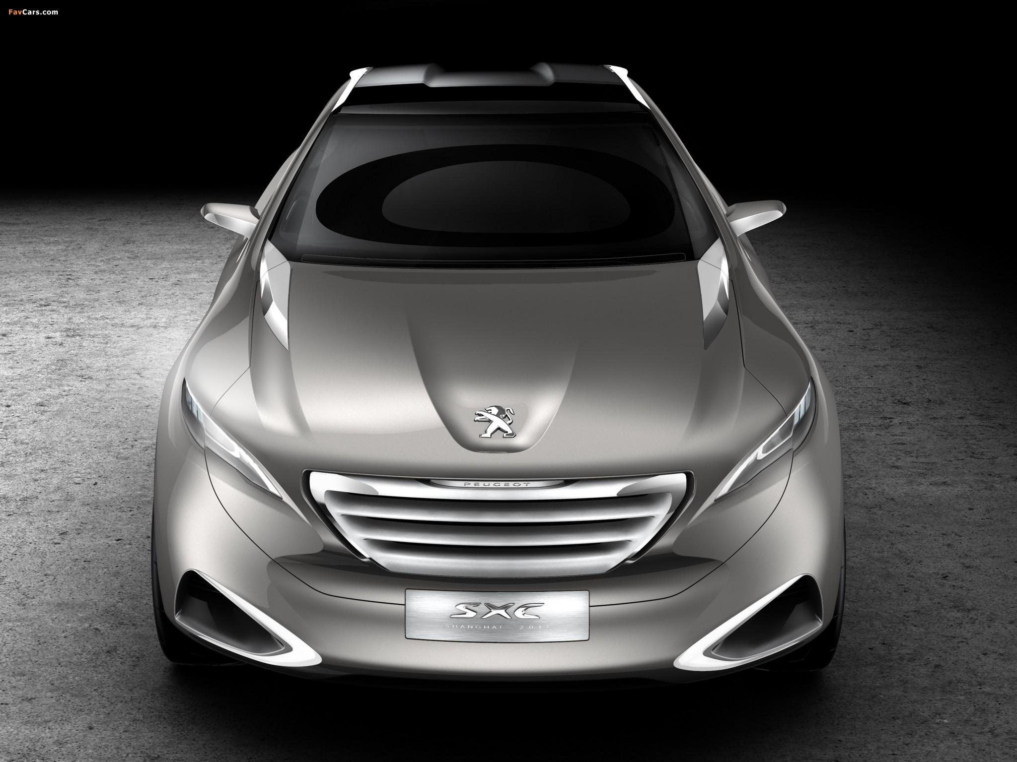 Peugeot SXC Concept 2011 photos (2048 x 1536)