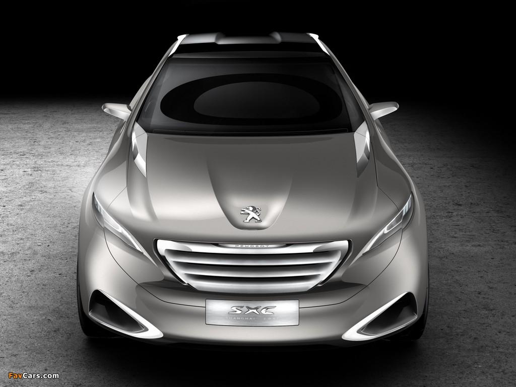 Peugeot SXC Concept 2011 photos (1024 x 768)