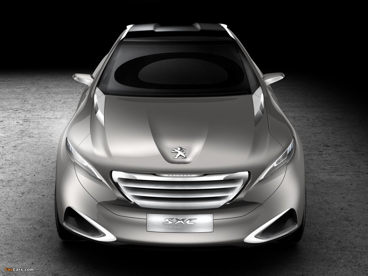 Peugeot SXC Concept 2011 photos (1280 x 960)
