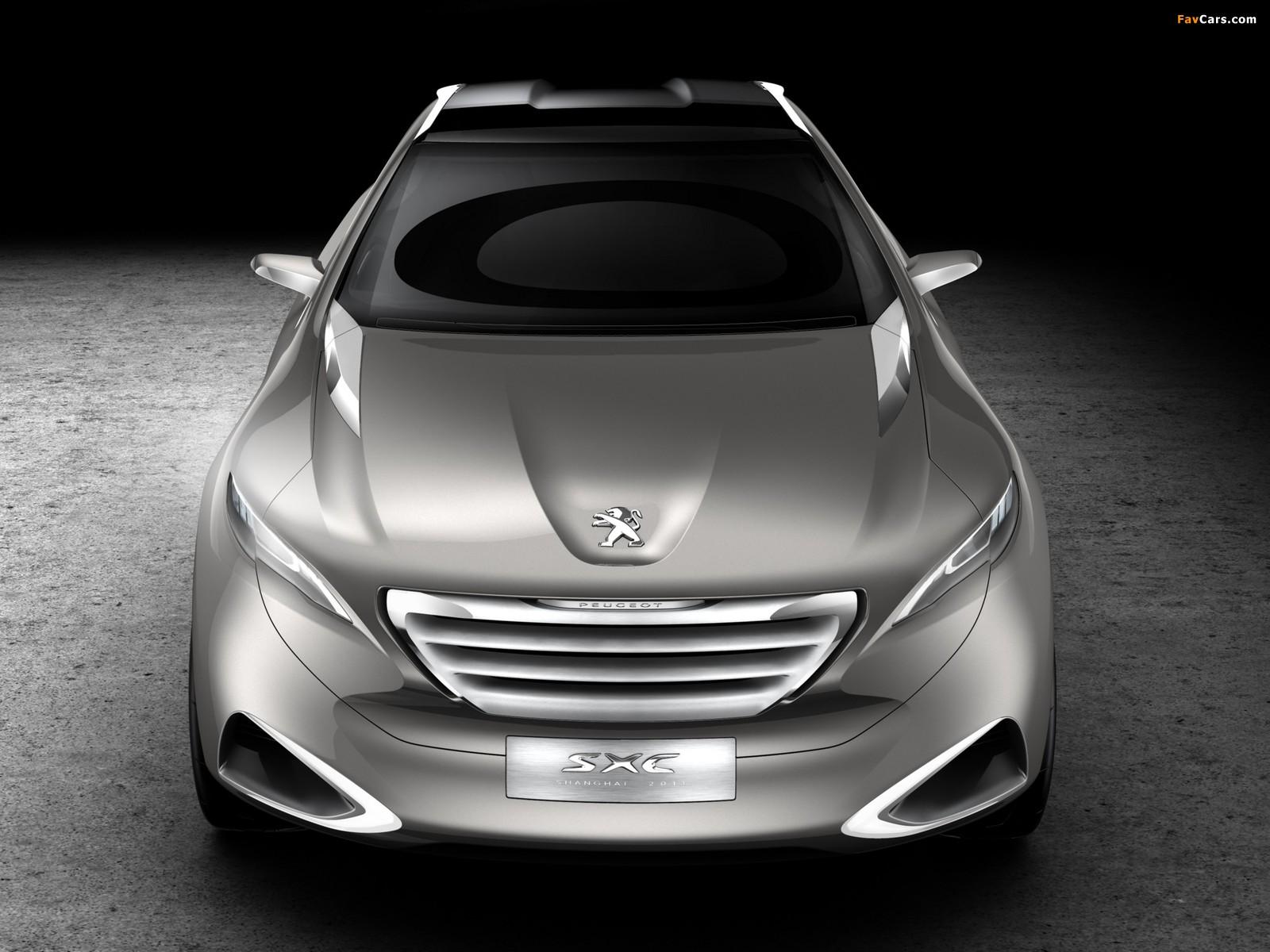 Peugeot SXC Concept 2011 photos (1600 x 1200)