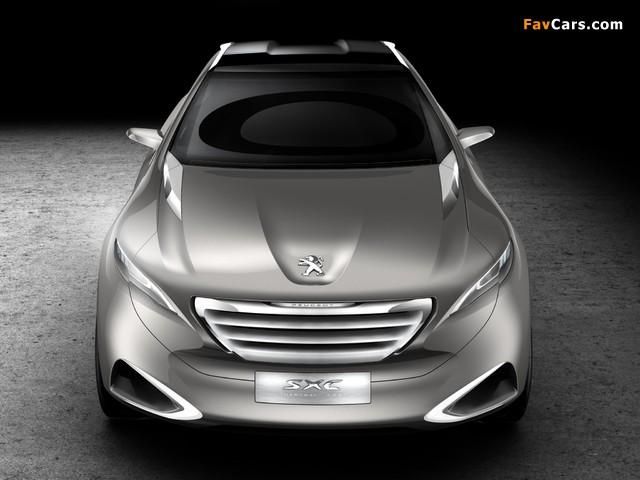 Peugeot SXC Concept 2011 photos (640 x 480)