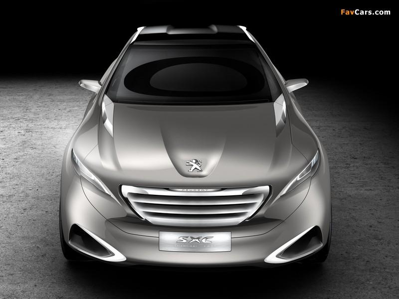 Peugeot SXC Concept 2011 photos (800 x 600)