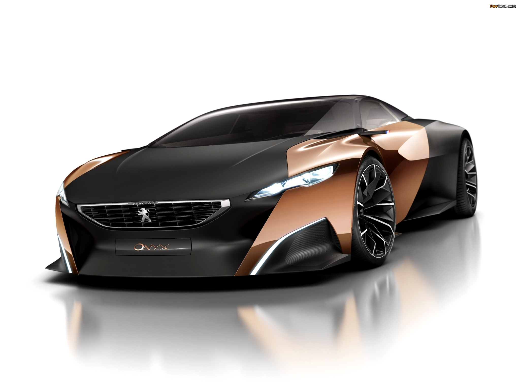 Peugeot Onyx Concept 2012 wallpapers (2048 x 1536)