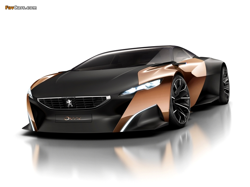 Peugeot Onyx Concept 2012 wallpapers (800 x 600)