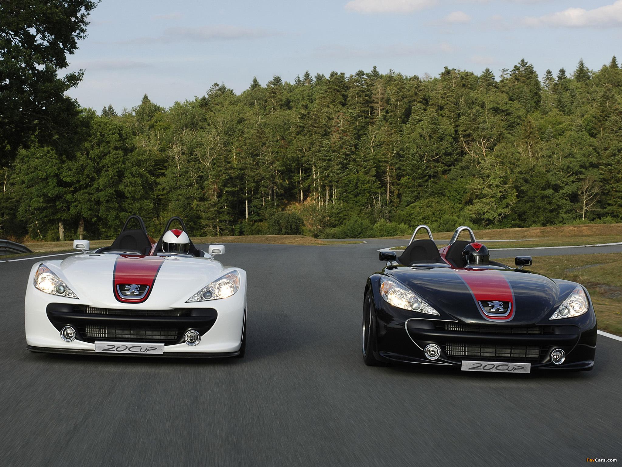 Photos of Peugeot 20Cup Concept 2005 (2048 x 1536)
