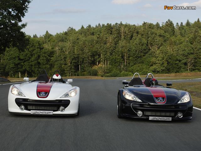 Photos of Peugeot 20Cup Concept 2005 (640 x 480)