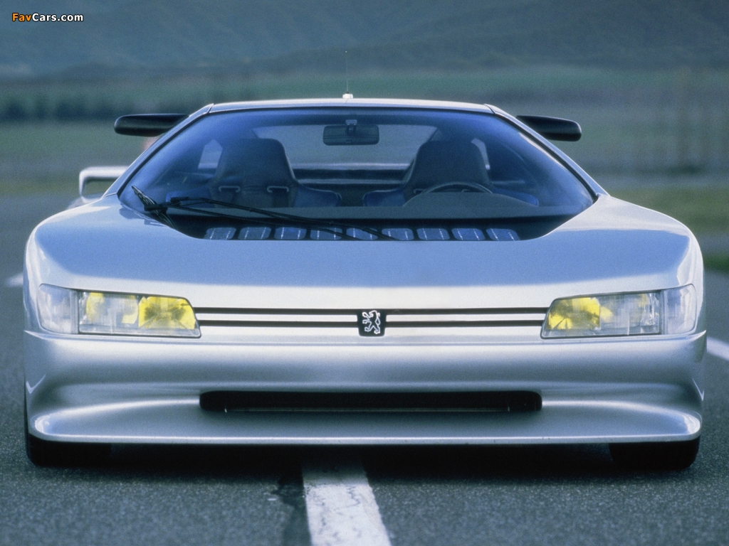Pictures of Peugeot Oxia Concept 1988 (1024 x 768)