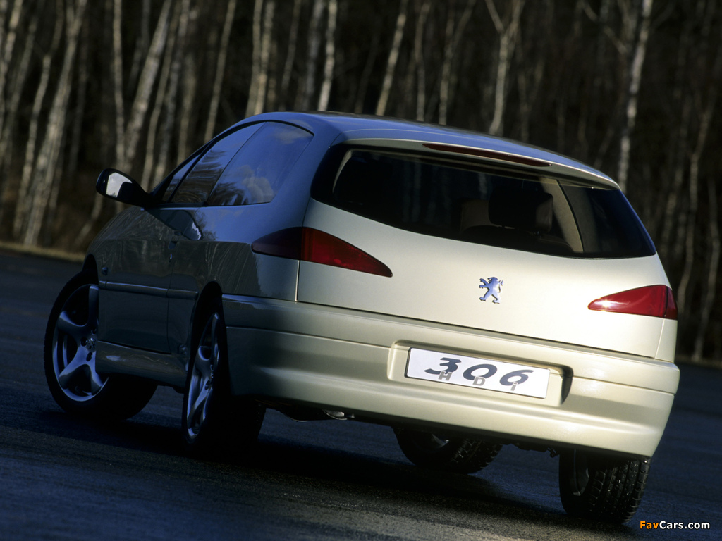 Peugeot 306 HDI Concept 1999 wallpapers (1024 x 768)