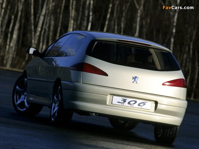 Peugeot 306 HDI Concept 1999 wallpapers (640 x 480)