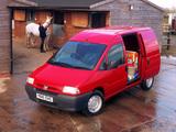 Peugeot Expert Van UK-spec 1995–2004 pictures