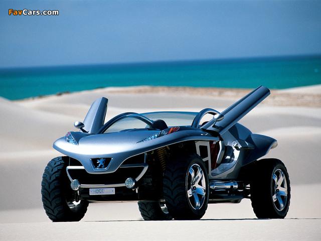 Photos of Peugeot Hoggar Concept 2003 (640 x 480)