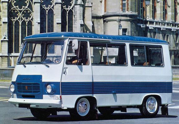Peugeot J7 Wagon 1965–80 wallpapers