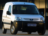 Images of Peugeot Partner Van ZA-spec 2002–08