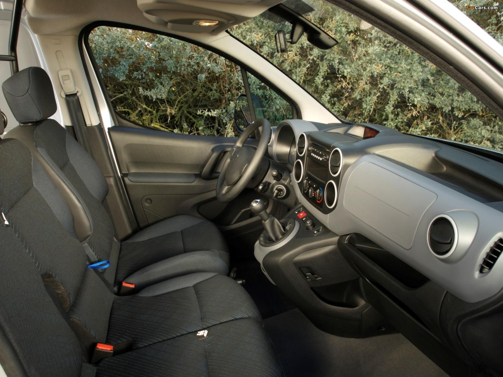 Images of Peugeot Partner Van 2008–12 (1600 x 1200)