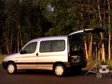 Peugeot Partner 1996–2002 photos