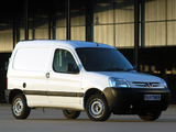 Peugeot Partner Van ZA-spec 2002–08 images
