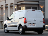 Peugeot Partner Van ZA-spec 2008–12 images