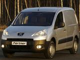 Peugeot Partner Van 2008–12 images