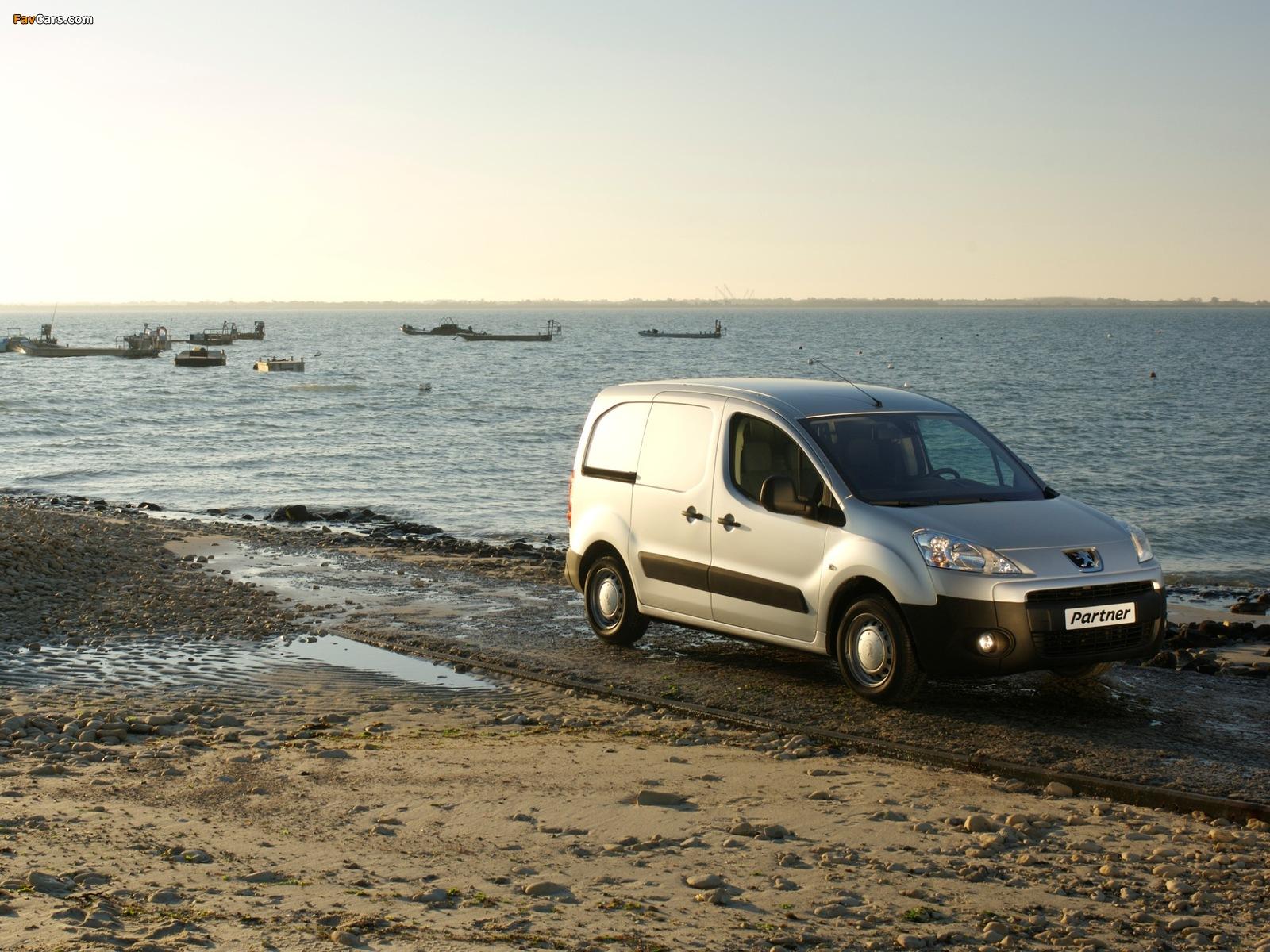 Peugeot Partner Van 2008–12 images (1600 x 1200)