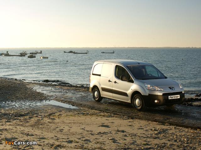 Peugeot Partner Van 2008–12 images (640 x 480)
