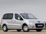 Peugeot Partner Tepee UK-spec 2008–12 photos