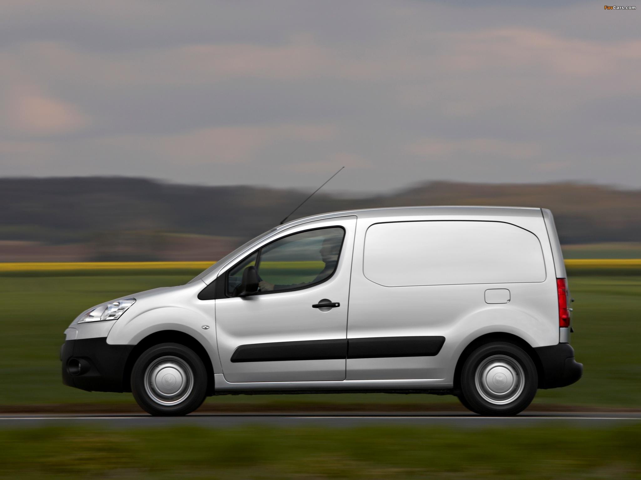 Peugeot Partner Van 2008–12 photos (2048 x 1536)
