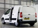 Peugeot Partner Van UK-spec 2008–12 photos