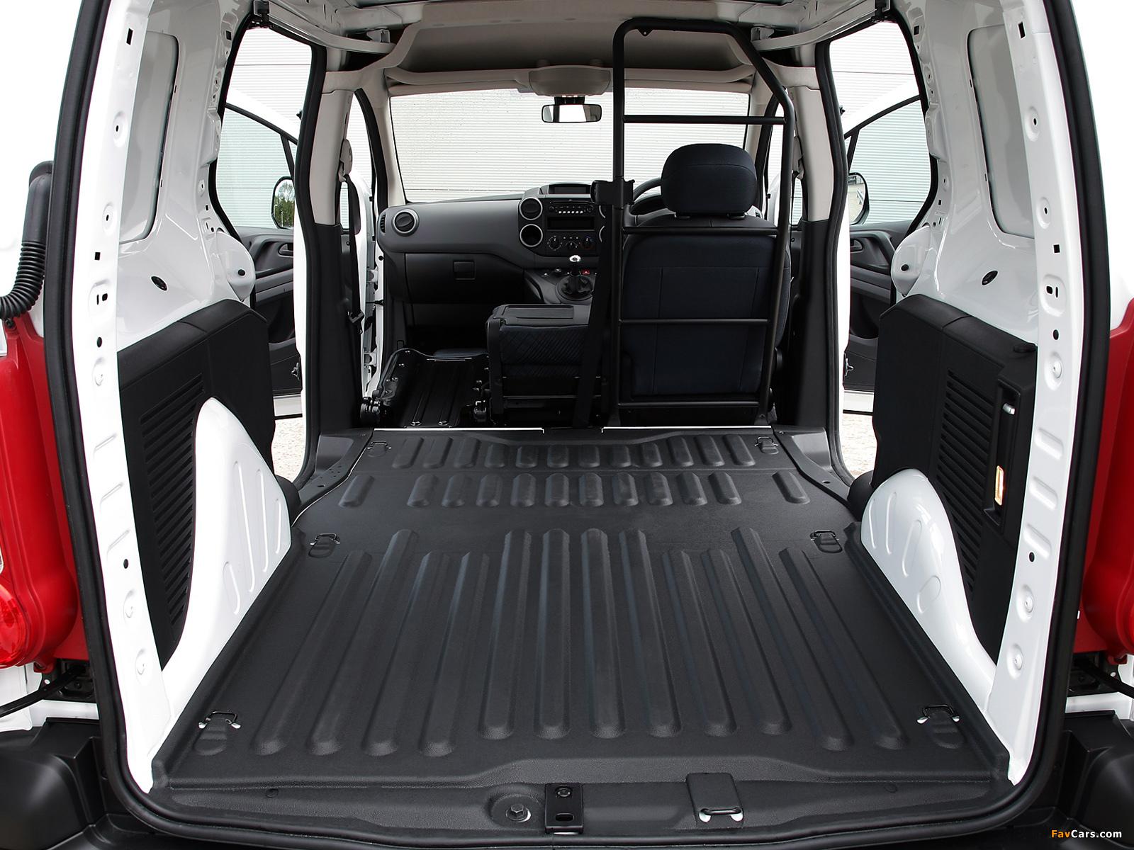Peugeot Partner Van UK-spec 2008–12 photos (1600 x 1200)