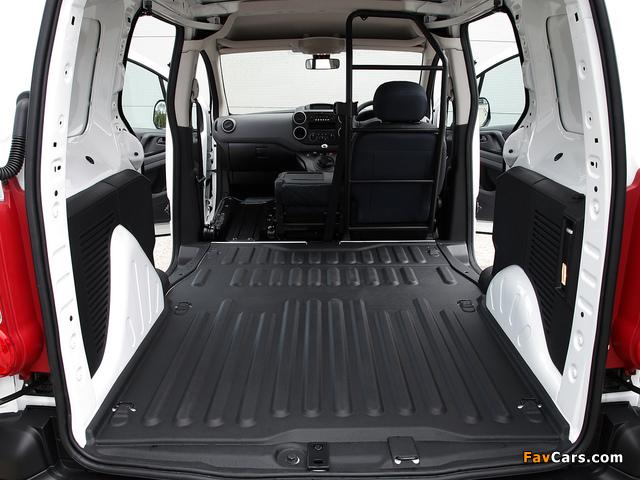 Peugeot Partner Van UK-spec 2008–12 photos (640 x 480)