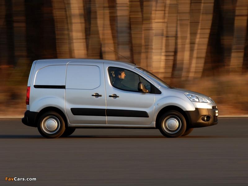 Peugeot Partner Van 2008–12 photos (800 x 600)