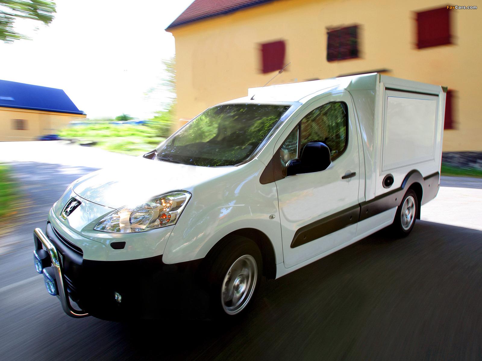 Peugeot Partner Boxline 2008 pictures (1600 x 1200)
