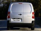 Peugeot Partner Van 2008–12 pictures