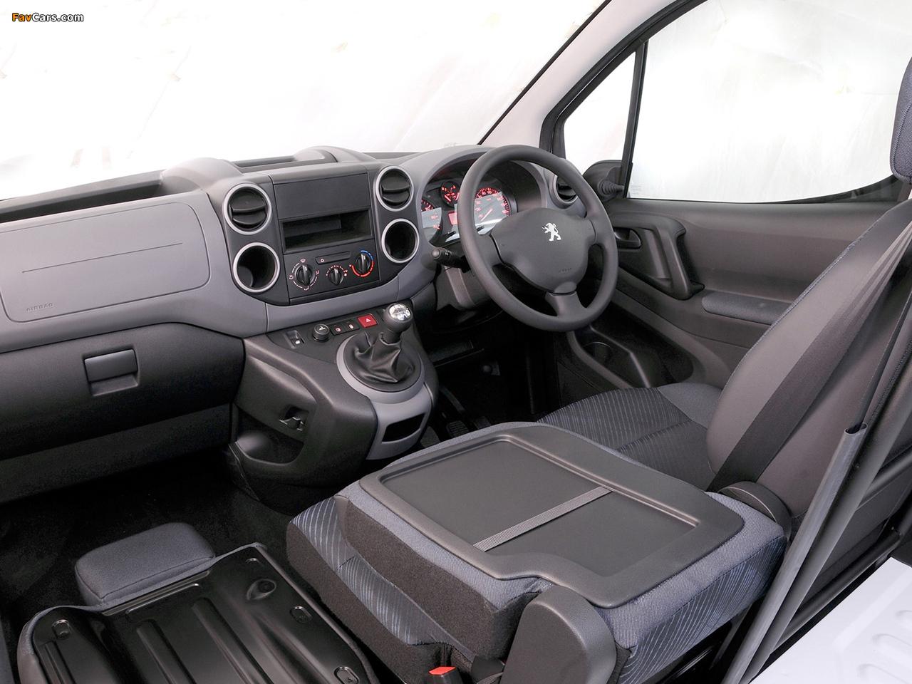 Peugeot Partner Van ZA-spec 2008–12 pictures (1280 x 960)