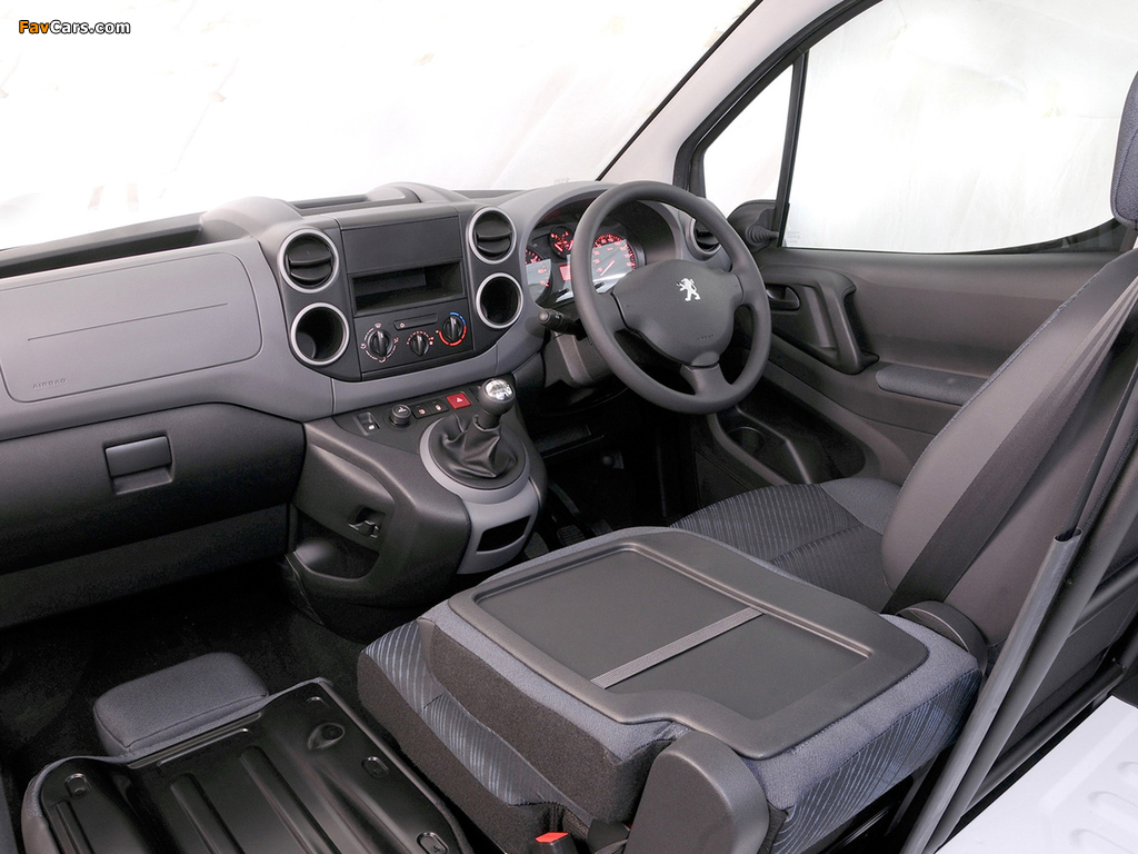 Peugeot Partner Van ZA-spec 2008–12 pictures (1024 x 768)