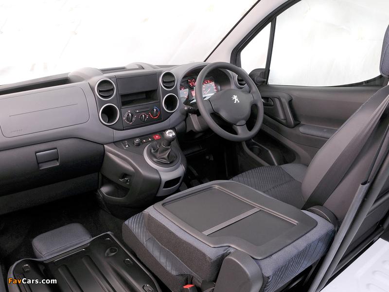 Peugeot Partner Van ZA-spec 2008–12 pictures (800 x 600)