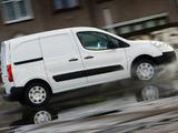 Peugeot Partner Van UK-spec 2008–12 pictures