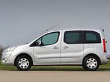 Peugeot Partner Tepee UK-spec 2008–12 wallpapers