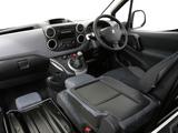 Peugeot Partner Van UK-spec 2008–12 wallpapers