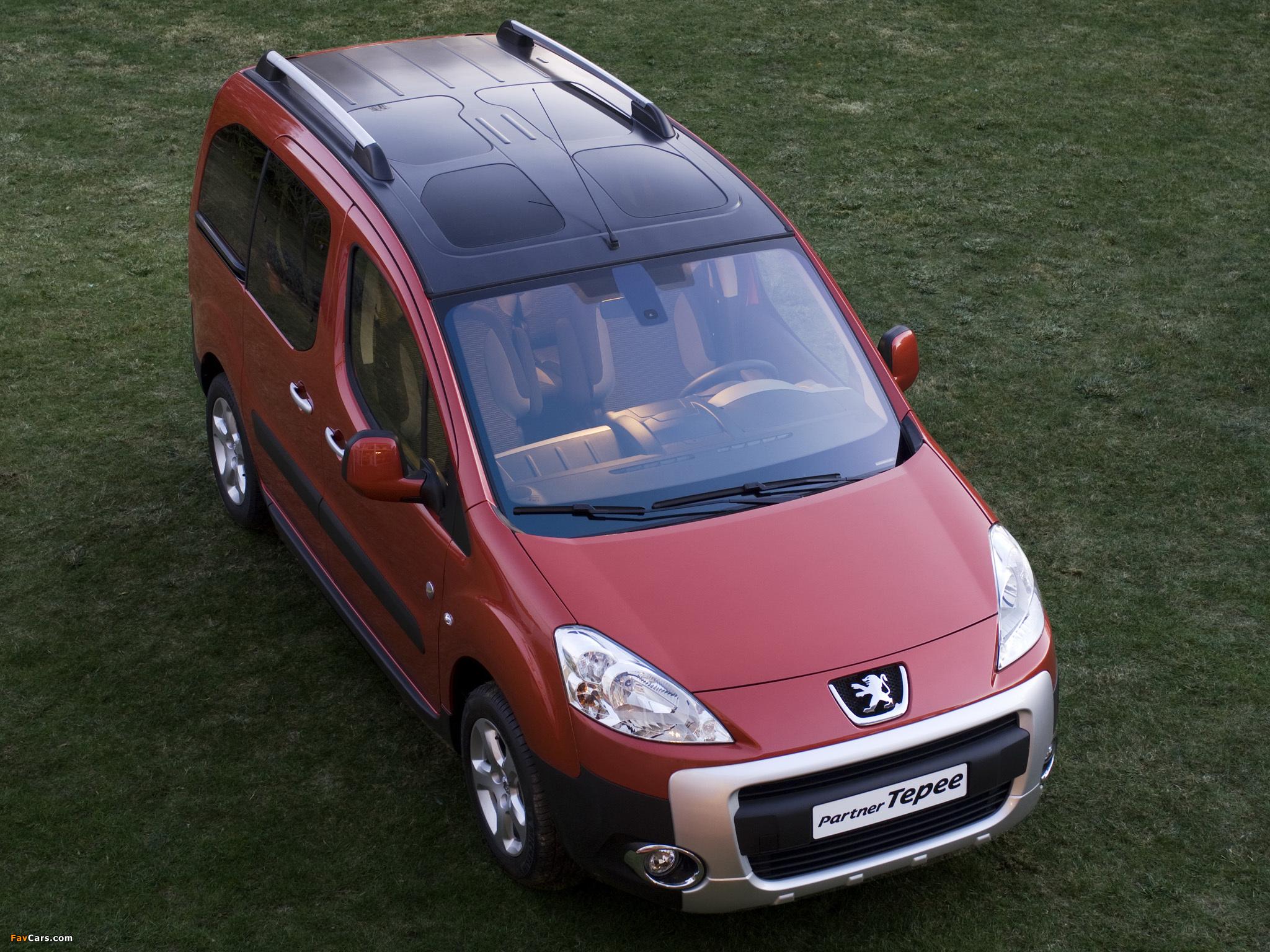 Peugeot Partner Tepee Outdoor Pack 2010 photos (2048 x 1536)
