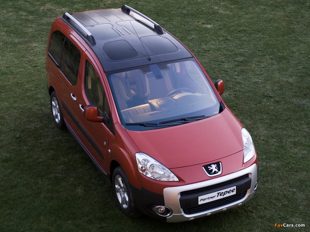 Peugeot Partner Tepee Outdoor Pack 2010 photos (1024 x 768)