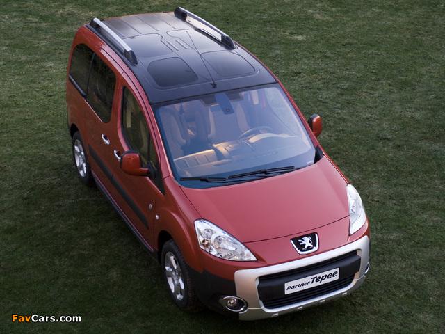Peugeot Partner Tepee Outdoor Pack 2010 photos (640 x 480)