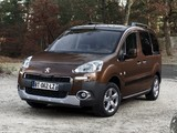 Peugeot Partner Tepee 2012 wallpapers