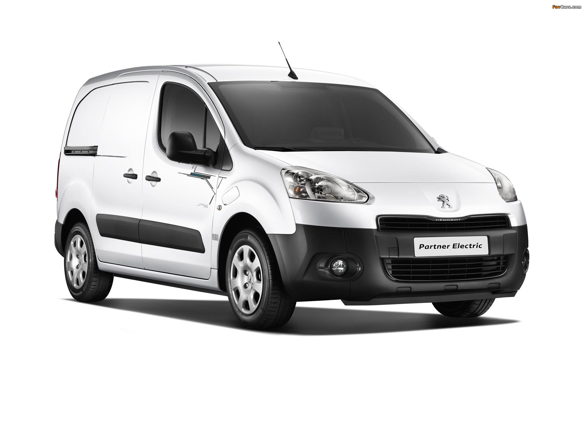 Peugeot Partner Van Electric 2013 pictures (2048 x 1536)