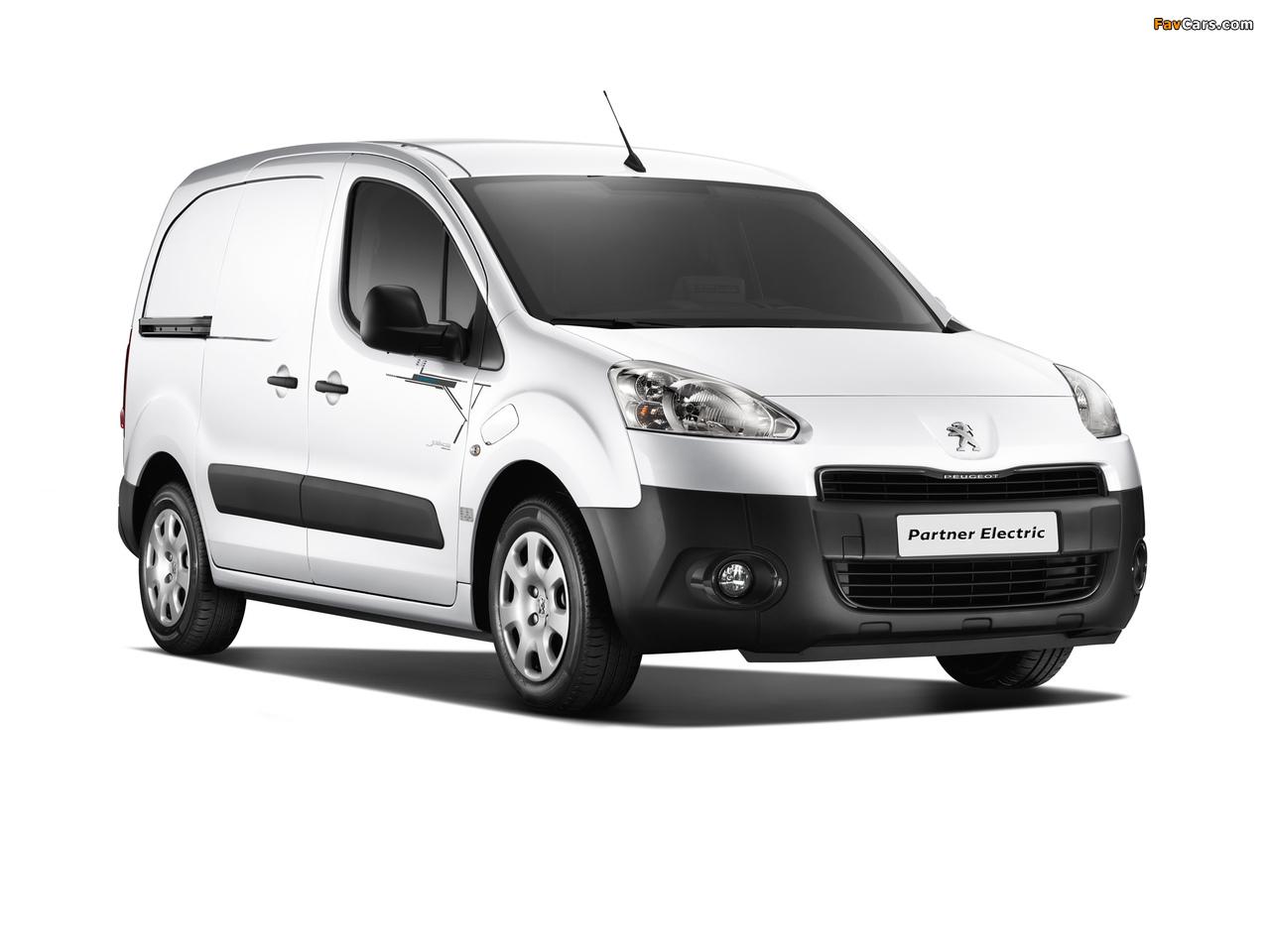 Peugeot Partner Van Electric 2013 pictures (1280 x 960)