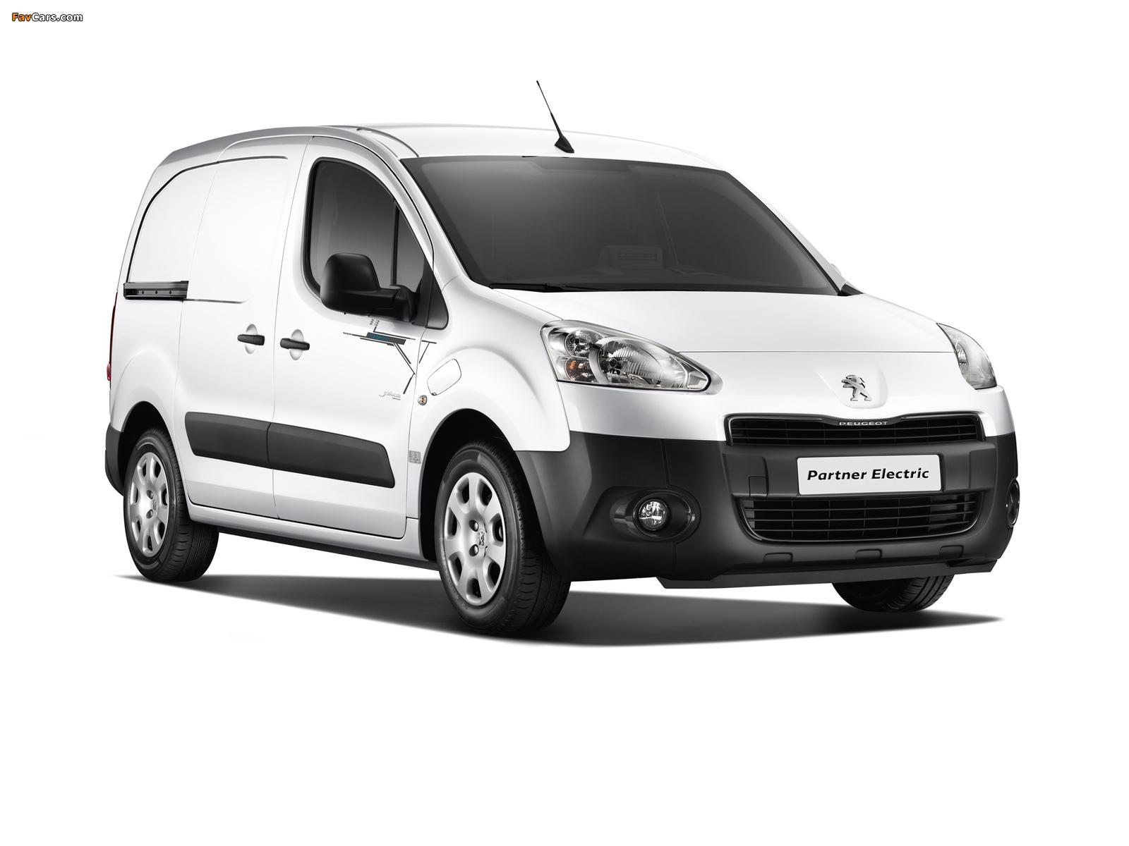 Peugeot Partner Van Electric 2013 pictures (1600 x 1200)